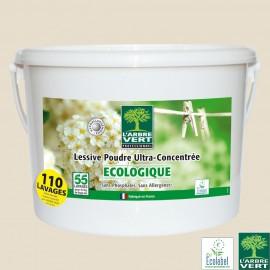 Lessive poudre baril de 5 kg écologique