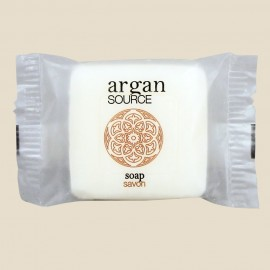 Savon 20 g sous papier transparent de la collection Argan Source