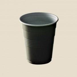 Tasses à café en plastique bicolore 10 cl
