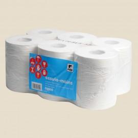 Essuie-mains papier en bobine 2 épaisseurs