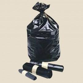 Sacs poubelle déchets courants polyéthylène Noir 100 L