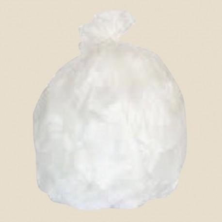 Sacs poubelle déchets courants polyéthylène Blanc 30 et 50 L