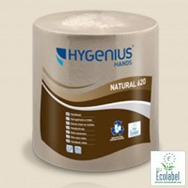 Essuie-mains papier en bobine écologique