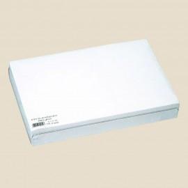 Set de table en papier gaufré, 30 X 40 cm, BLANC GLACÉ