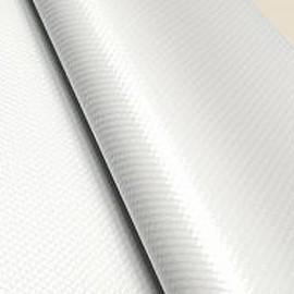 Nappe en papier gaufré, 55 X 55 cm, BLANC GLACÉ