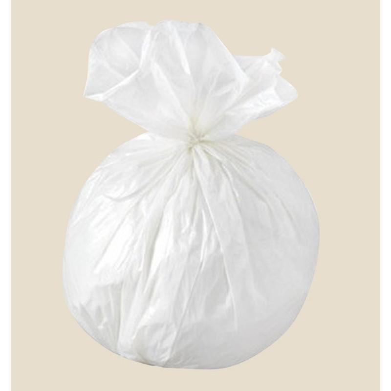 sacs poubelles 20 litres blanc consommables pour h tels et restaurants consomhotel. Black Bedroom Furniture Sets. Home Design Ideas