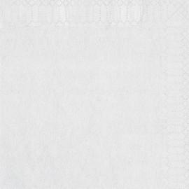 Serviette classique Ouate carré 30 x 30 cm 2 plis BLANC personnalisable