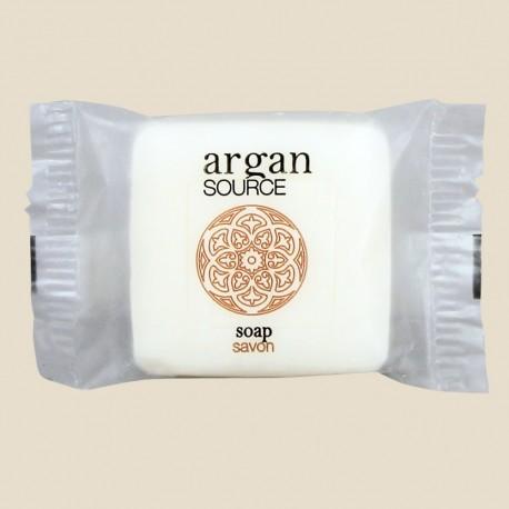 Savon 20 g sous papier transparent de la collection Argan Source