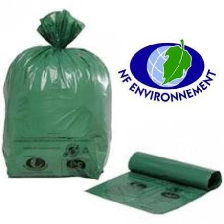 sac poubelle 30 litres cologique vert consommables pour h tels et restaurants consomhotel. Black Bedroom Furniture Sets. Home Design Ideas