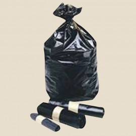 Sacs poubelle déchets courants polyéthylène Noir 110, 130 et 160 L