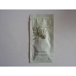 Laits corporels 5 ml en sachet de la collection Oliva del Mediterraneo