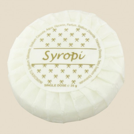Savon 25 gr Syropi papier plissé