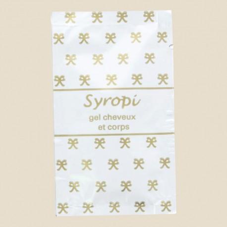 Sachet shampooing douche Syropi 10 ml