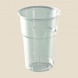 Gobelets cristal en plastique transparent 25 cl