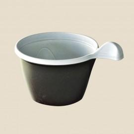 Tasses à café en plastique blanc 10 cl