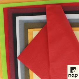 Serviettes classiques ouate, 30 X 39 cm, 2 plis, Couleurs VIVES