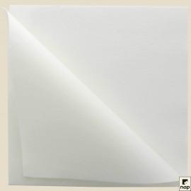 Serviettes grand format non-tissé Célisoft®, carré, 40 X 40 cm, 2 plis, couleur BLANC