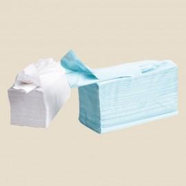 Essuie-mains papier feuille à feuille 2 épaisseurs